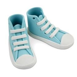 High Cut Sneaker, blå tårtdekoration