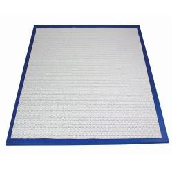 Kavelplatta, ca 60 x 50 cm (blå)