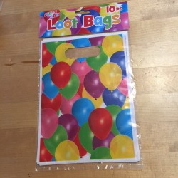 Party Balloons, 10 st kalaspåsar