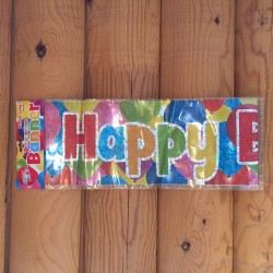 Party Balloons, banner 275 cm