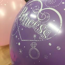 Sweet Princess, 16 st ballonger