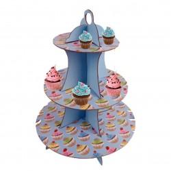 Cupcake - Blue, muffinsträd
