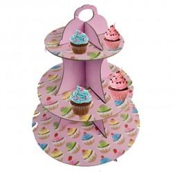 Cupcake - Pink, muffinsträd