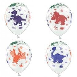 Dino Party, 6 st ballonger
