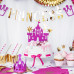 Princess, 4 st cake toppers