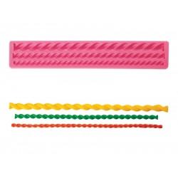 Ropes (3 olika), bård (silikonform)