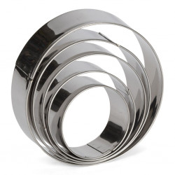 Cirkel, 5 st utstickare