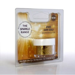 Guld, dekorationsglitter (Jewel Dark Gold)