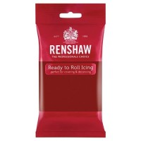 BF 20180831 - Sugarpaste, ruby red 250g (RR)