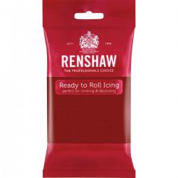 Röd sockerpasta, 250g (Ruby Red - RR)