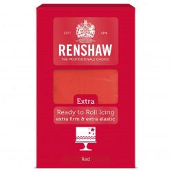 Röd sockerpasta Pro Extra, 1 kg (Red - RR)