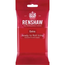 Röd sockerpasta Pro Extra, 250g (Red - RR)