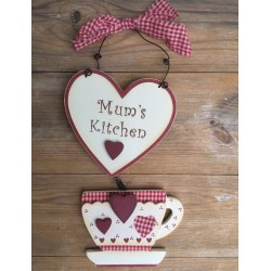 Mum's Kitchen, skylt