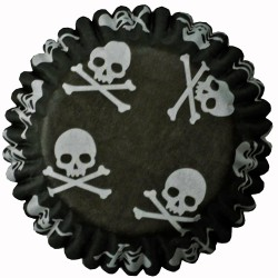 Dödskalle, 54 st muffinsformar