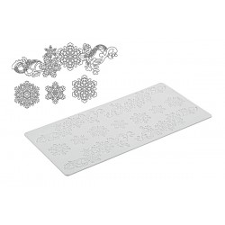 Snowflakes, spetsmönster (SM)