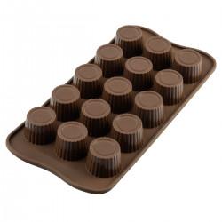 Praline, chokladform i silikon