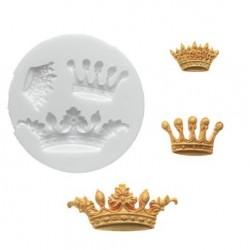 Prinsesskrona, silikonform (3 st)
