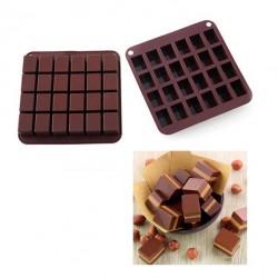 Chokladbit, chokladform (silikon)