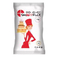 BF 20200627 - Röd sockerpasta, 1 kg (Red Velvet)