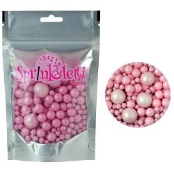 Bubbles, rosa strösselmix
