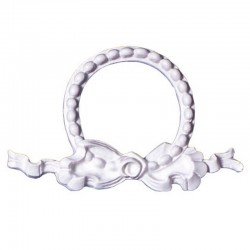 Bow and Pearl Garland Frame, silikonform (GR.I.)