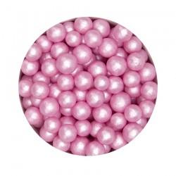 Pearly Light Pink, strösselkulor 6-7 mm
