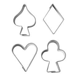 Kortlekssymboler, 4 st utstickare