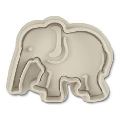 Elefant, utstickare m ejektor