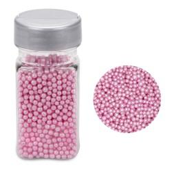 Pearly Light Pink, strösselkulor 3-4 mm (AZO-fri)