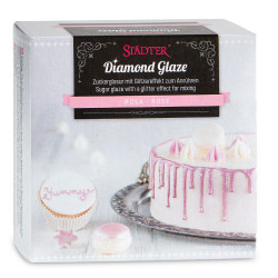 Diamond Glaze, rosa (AZO-fri)