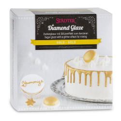Diamond Glaze, guld (AZO-fri)