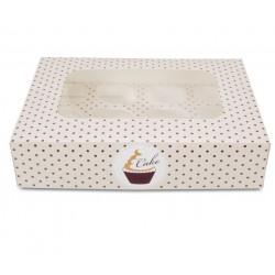 Cake Dots, muffinsask