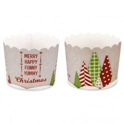 Muffinskoppar, 12 st (yummy Christmas)