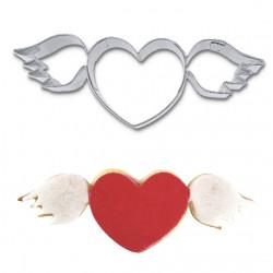 Hjärta med vingar, pepparkaksform