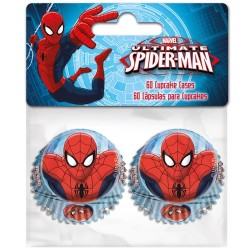 SpiderMan, 60 st små muffinsformar