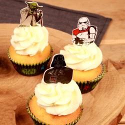 Star Wars, 24 st muffinsflaggor