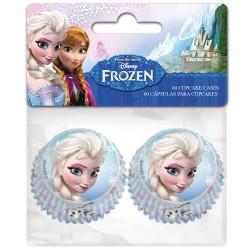 Frozen, 60 st små muffinsformar