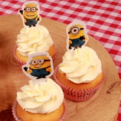 Minions, 24 st muffinsflaggor