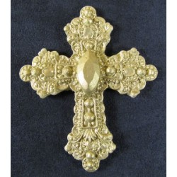 Cross with Jewels, silikonform