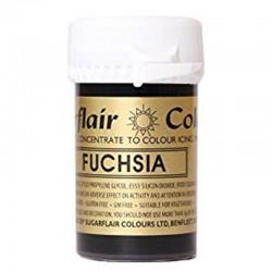 Fuchsia, pastafärg