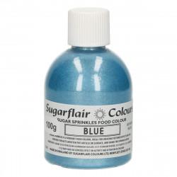 Glittersocker, Blå 100g (Blue - SC)