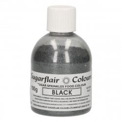 Glittersocker, Svart (Black - SC)