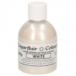 Glittersocker, Vit (White - SC)