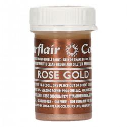 Flytande färg, rosguld (Rose Gold)