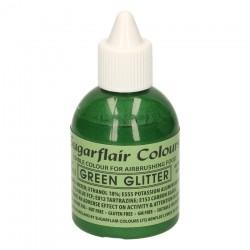 Green Glitter, airbrushfärg (SC)