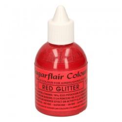 Röd, airbrushfärg (Red Glitter - SC)
