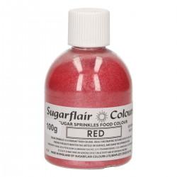 Glittersocker, Röd (Red - SC)