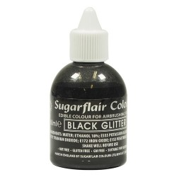 Svart, airbrushfärg (Black Glitter - SC)