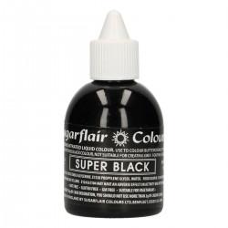 Svart, airbrushfärg (Super Black - SC)