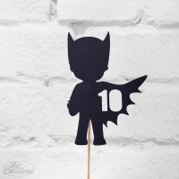 BatBoy - 10, tårtdekoration